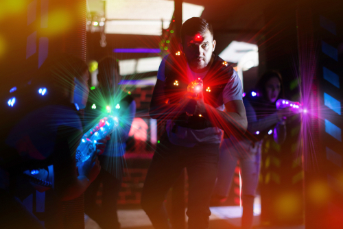 10-hangout places in hyderabad-laser-tag