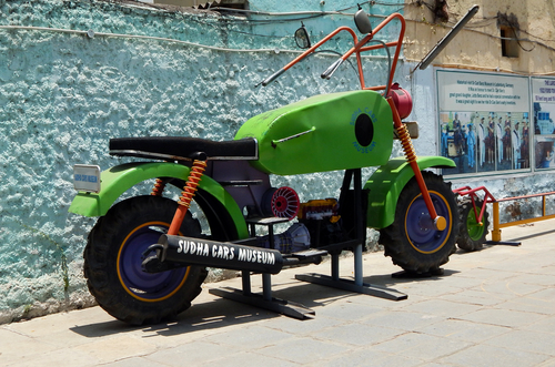 4-what to do in hyderabad-car-museum