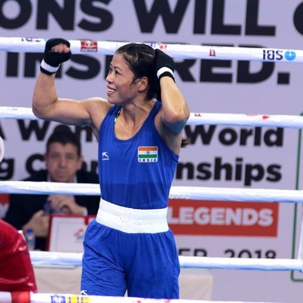 mary kom becomes the number one boxer in the world