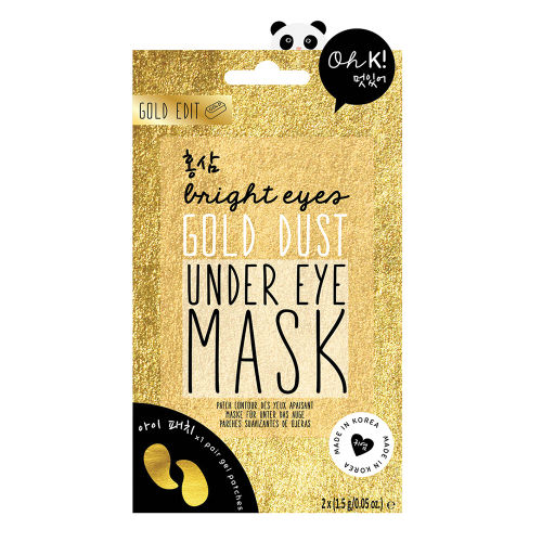 Korean beauty products skincake under eye mask