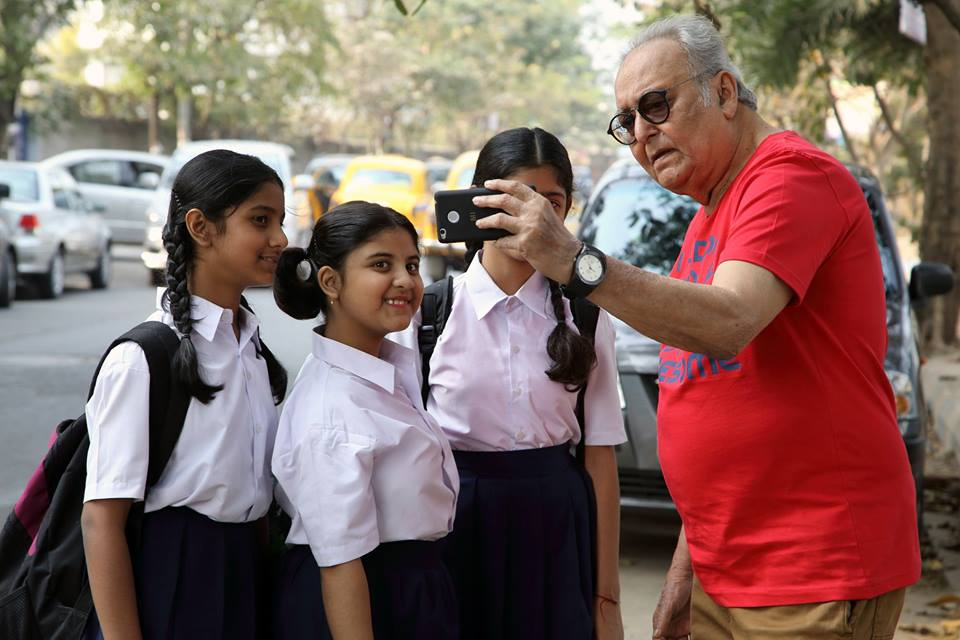 soumitra and kids
