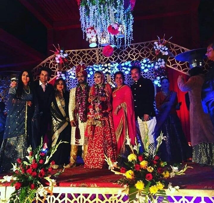 Sheena-Rohit-family-in-their-marriage-PHOTO