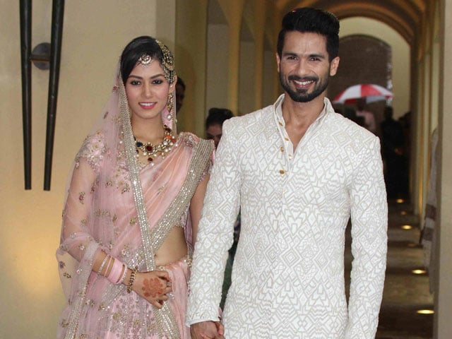 Shahid and Mira wedding picture