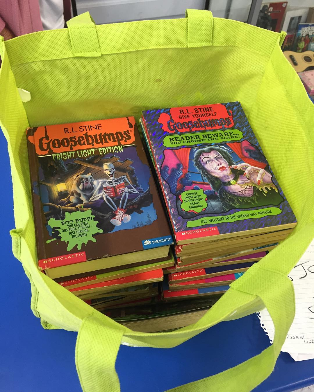 04 - horror novels - childrens horror books - goosebumps