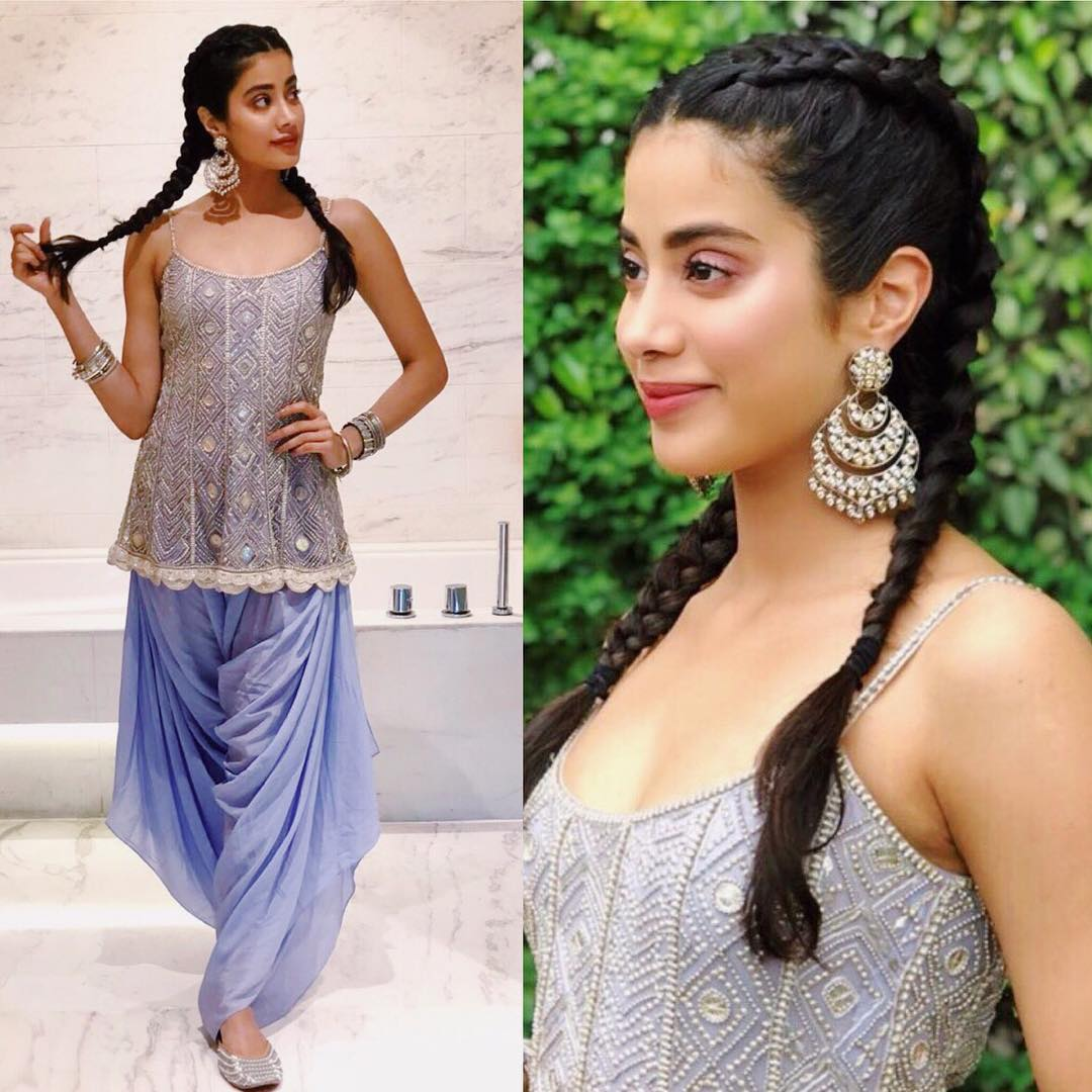 5 The New Star Kids In B-Town Are Taking Over Bollywood Braid By Braid - janhvi kapoor