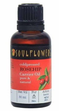 1 carrier and essential oils - soulflower rose hip