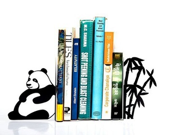 Gifts For Booklovers- Panda Bookends