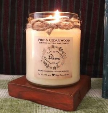 Gifts For Booklovers- scented candles