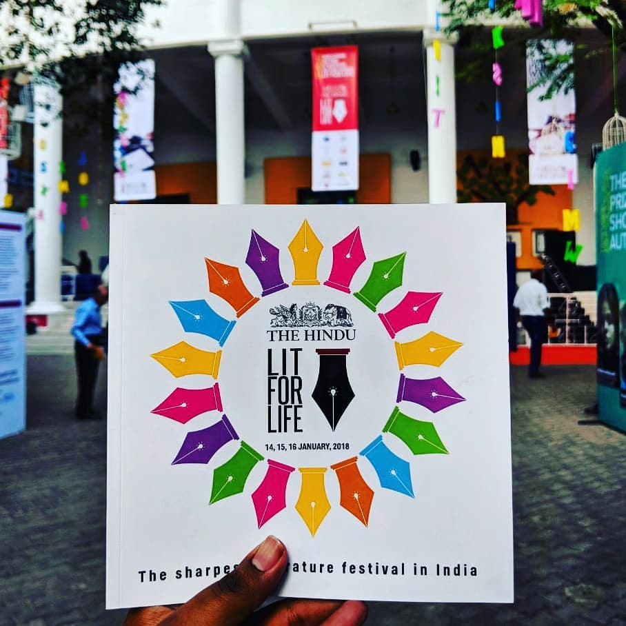 literature festivals in india - The Hindu Lit For Life  Chennai