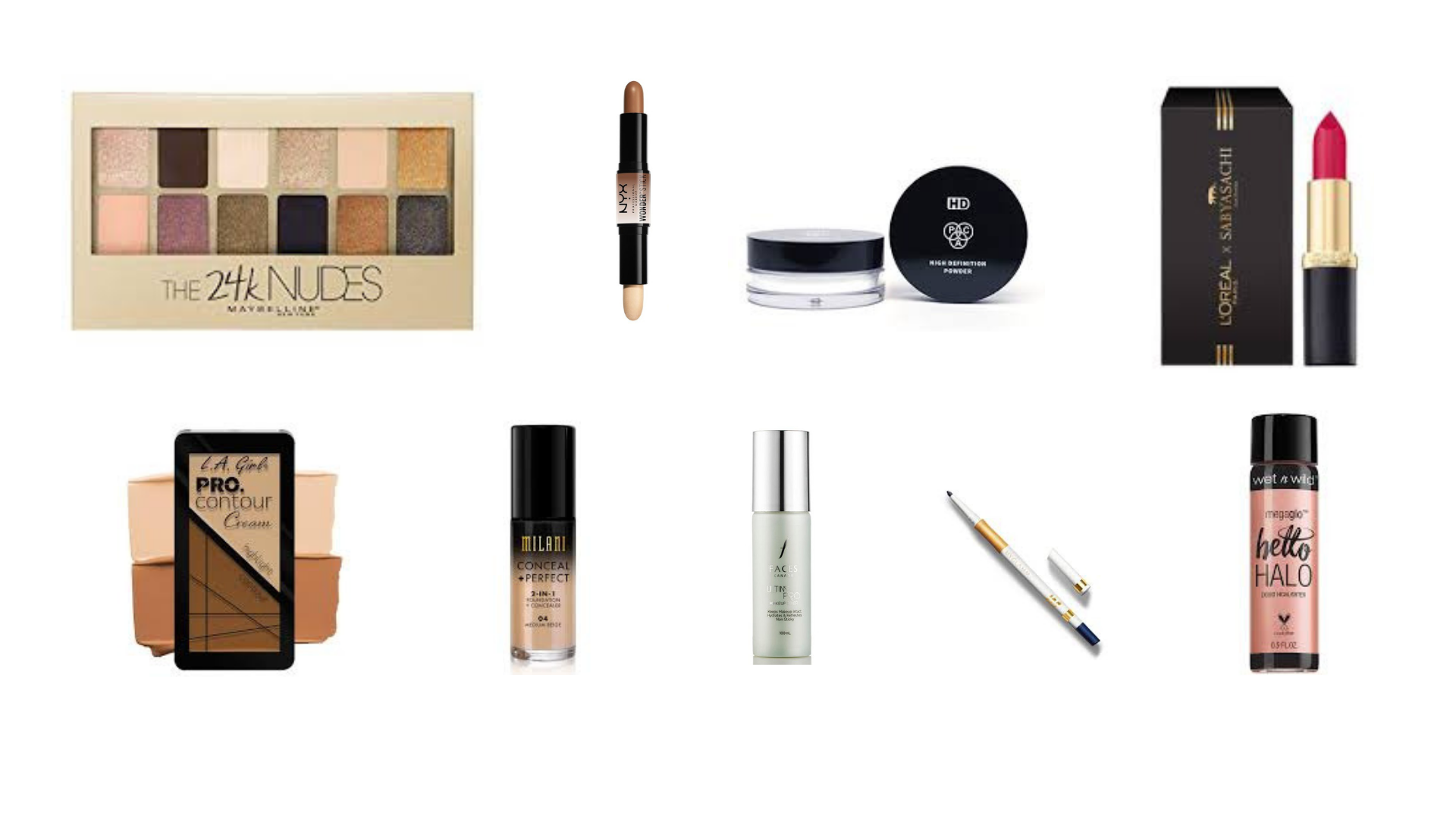 makeup products kits extra shopper