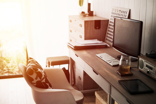 how-to-decorate-your-home-office-to-increase-your-productivity work-from-home