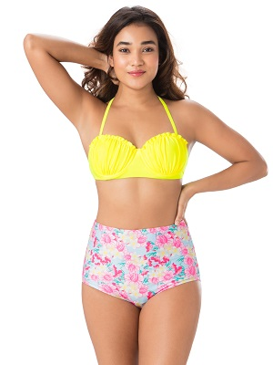 Pink-And-Wonderful-plus-size-swimming-costumes