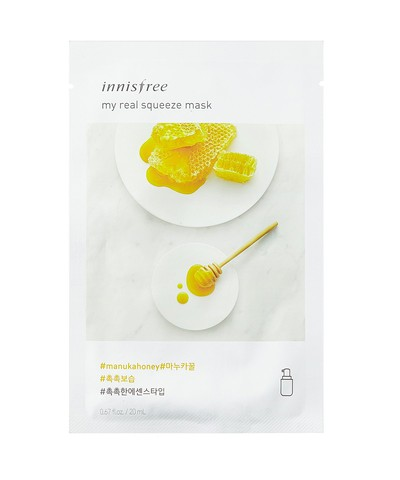 Innisfree My Real Squeeze Mask Honey for marathi