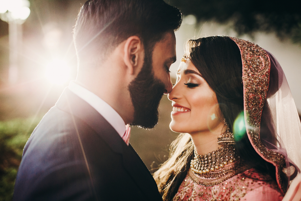 Captions For Your First Picture With Your Husband- indian wedding