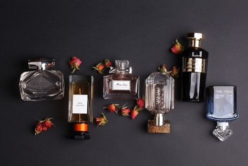 Perfume set for the couple