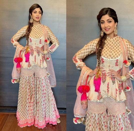 1-shilpa-shetty-dancing-sangeet-look-for-the-sangeet
