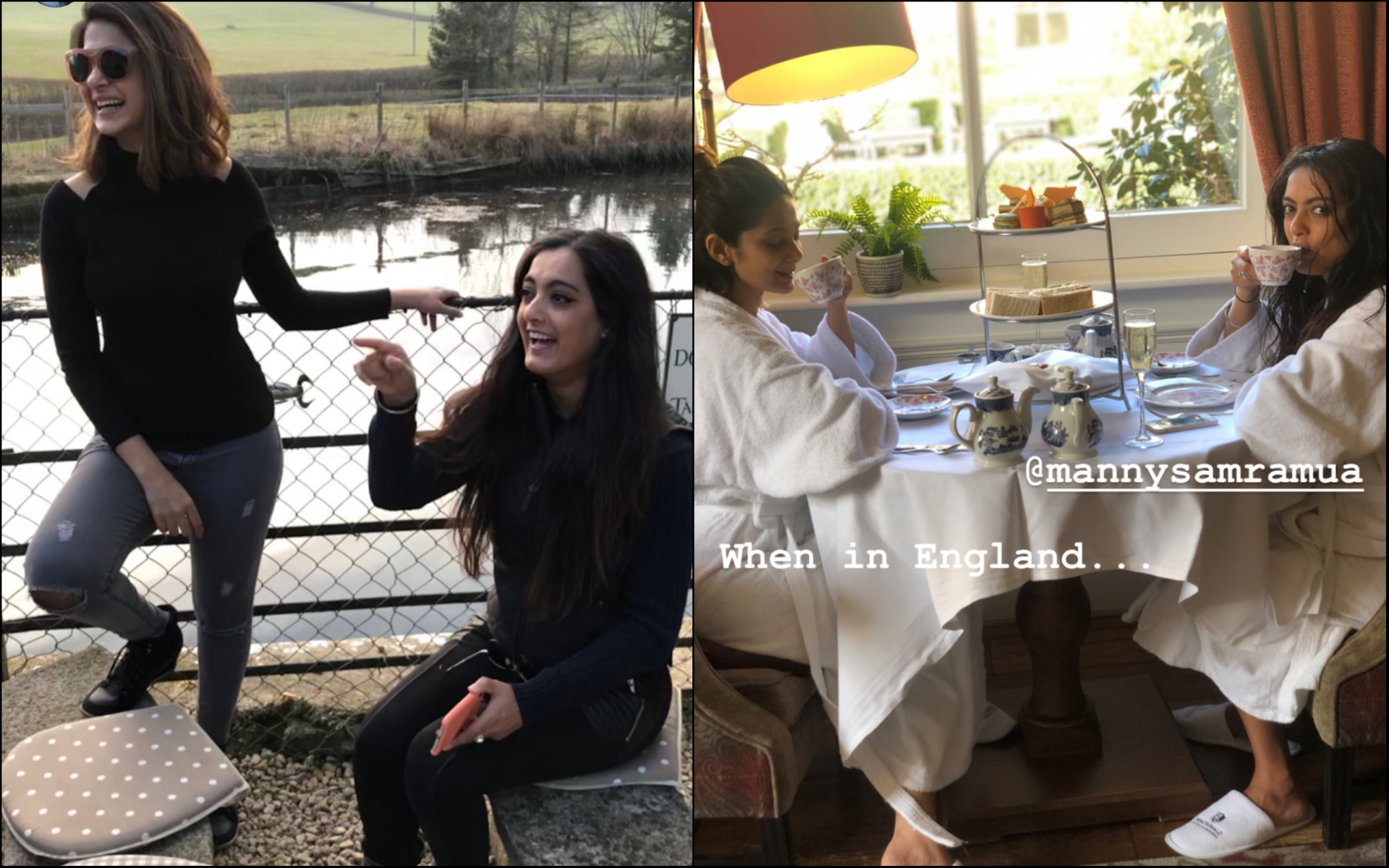 3-jennifer-winget-with-friend -on-vacation