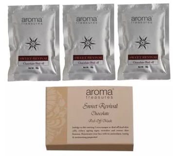 aroma-treasures-sweet-revival-chocolate-peel-off-mask-pack-of-3-peel-off-face-mask