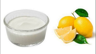 curd-benefits-for-healthy-hair-lemon