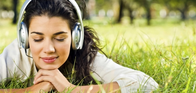 Listen music to relieve stress