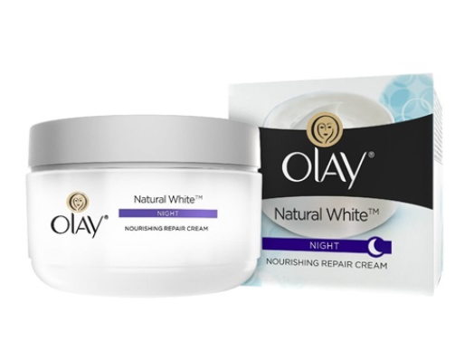 Olay Natural White - All-In-One Fairness Night Cream