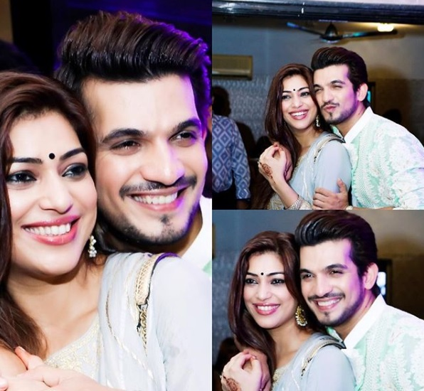 TV Actors and their simple Wives- Arjun Bijlani