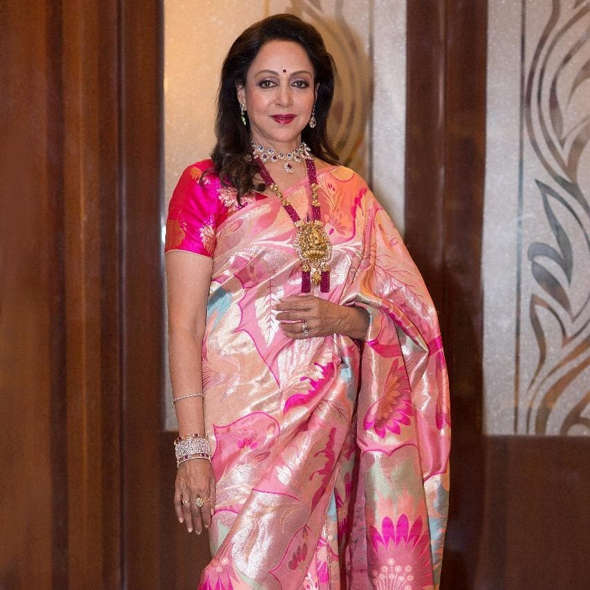 1 hema malini is a billionaire
