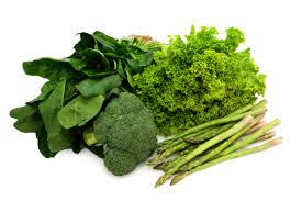 Leafy vegetables for weight loss