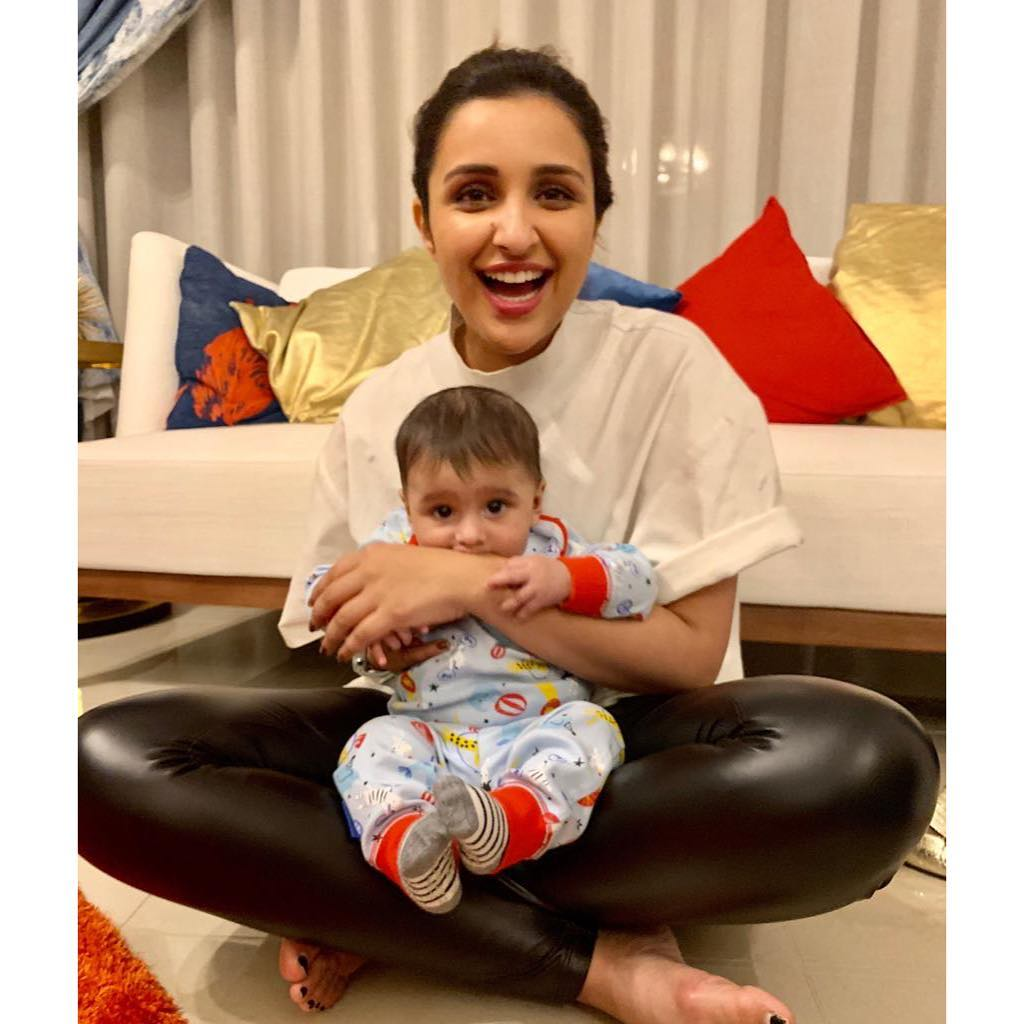 parineeti chopra - sania mirza son
