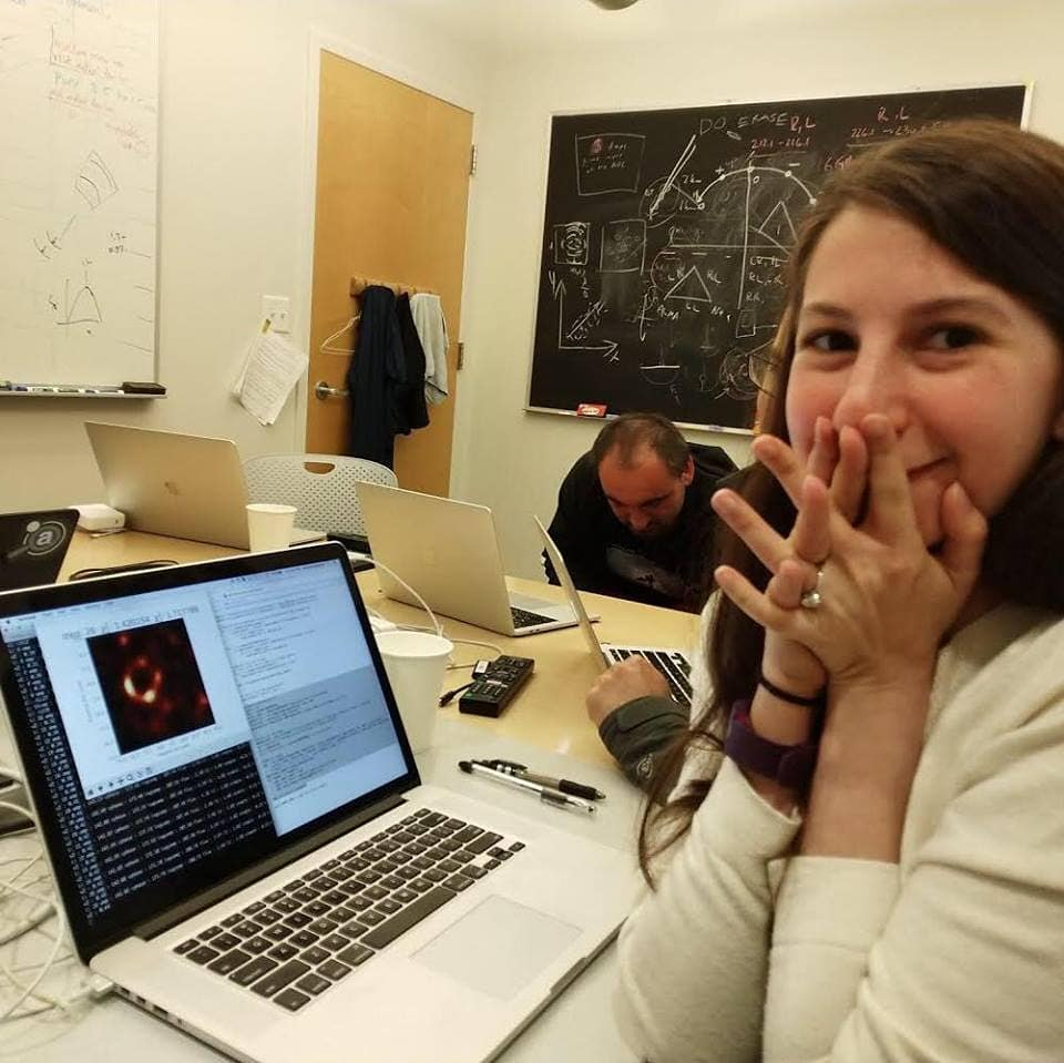 2 katie bouman the woman behind the first black hole image