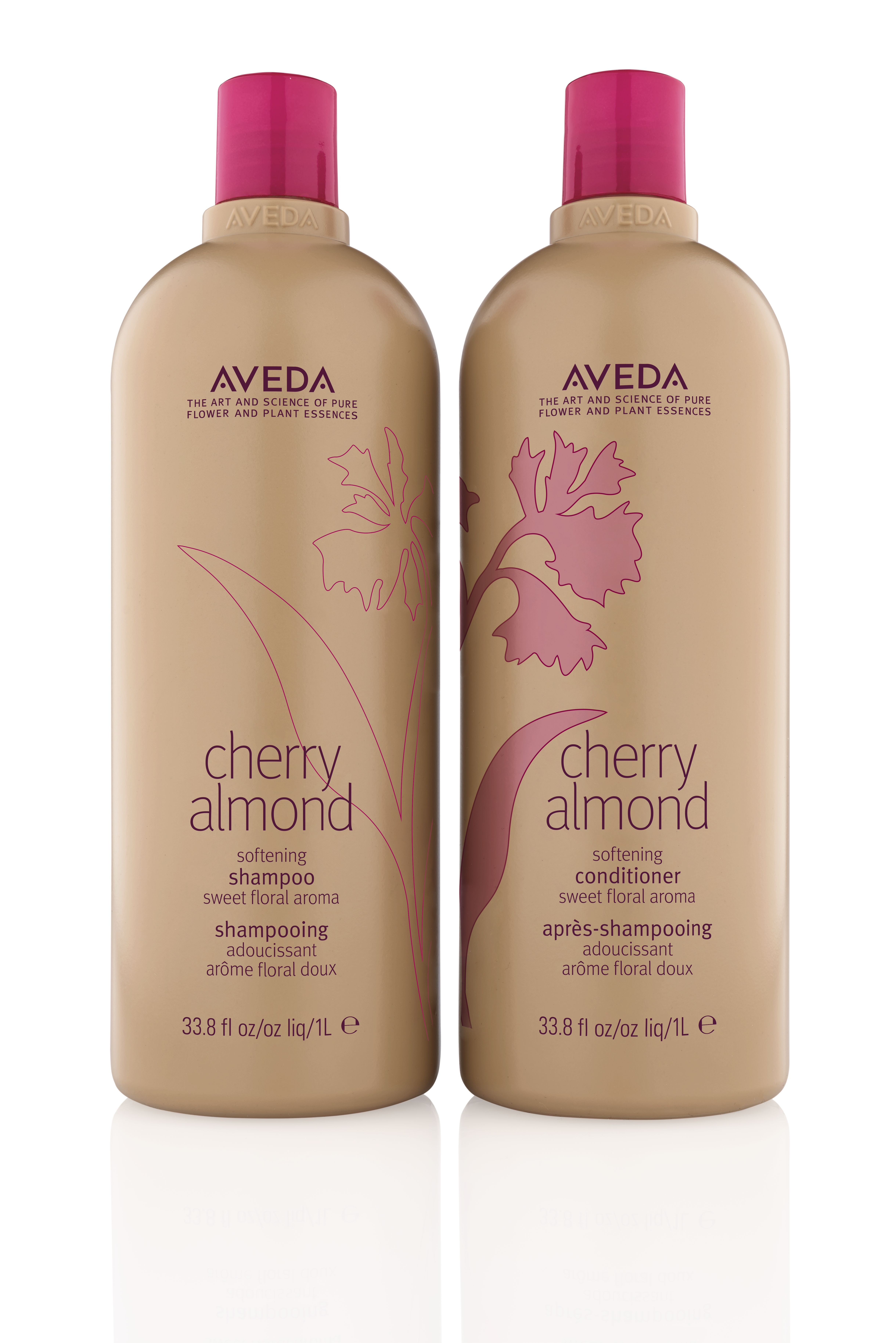 April-new-beauty-launches-Aveda- Cherry Almond Shampoo and Conditioner
