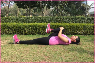 Stretching Excercise-Knee to Chest Stretch