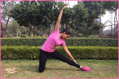 Stretching Excercise- Acute Angle Stretch