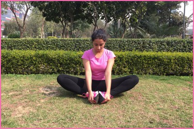 Stretching Excercise- Butterfly Stretch