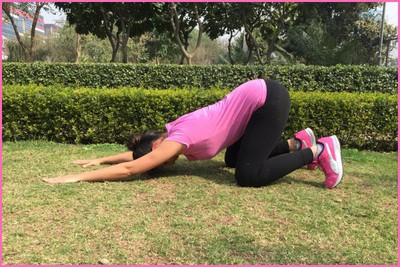 Stretching Excercise- Mini Mountain Stretch