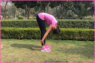 Stretching Excercise- Standing Hamstring Stretch