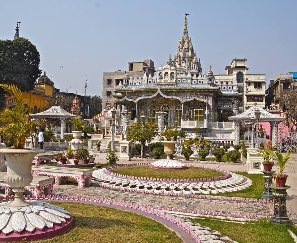 Famous Temple in Kanpur-Jain Glass Temple