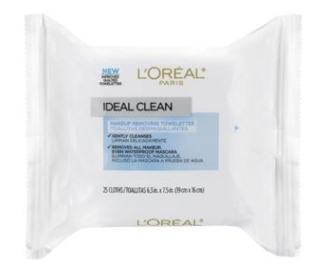 Ideal Skin Make Up Removing Towelettes