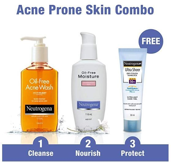 Neutrogena Acne Prone Skin Care Kit