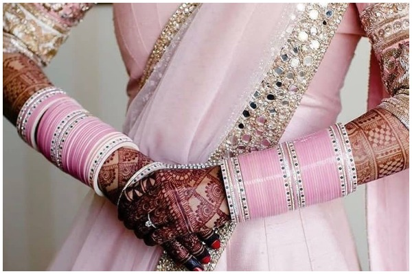Baby Pink Bridal Chooda