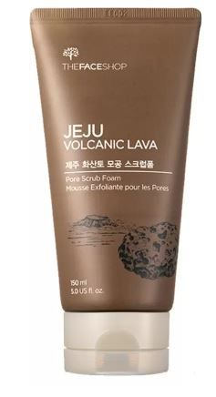 The Face Shop Jeju Volcanic Lava Pore Foam Scrub