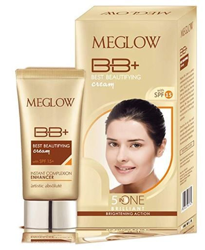 MEGLOW BB  CREAM With SPF 15 for Women