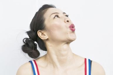 Face fat exercise