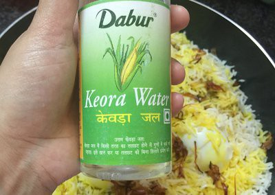 kewda water food