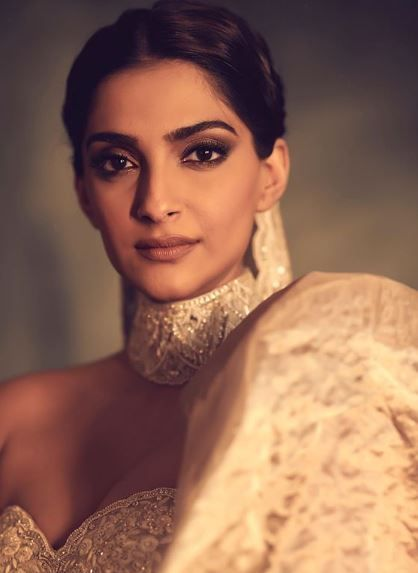 6 sonam kapoor in a silver gown at cannes 2019