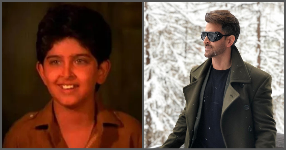 Then  Now Pictures Of 11 Child Stars Who Are Now Popular Bollywood Celebrities - hrithik roshan