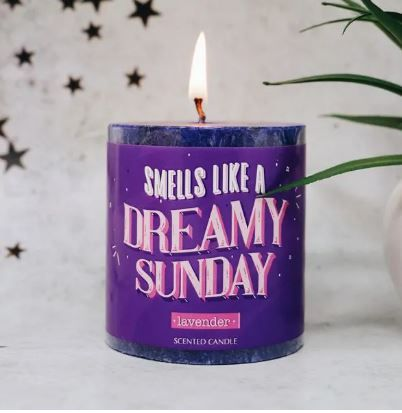 4-Scented-Candle