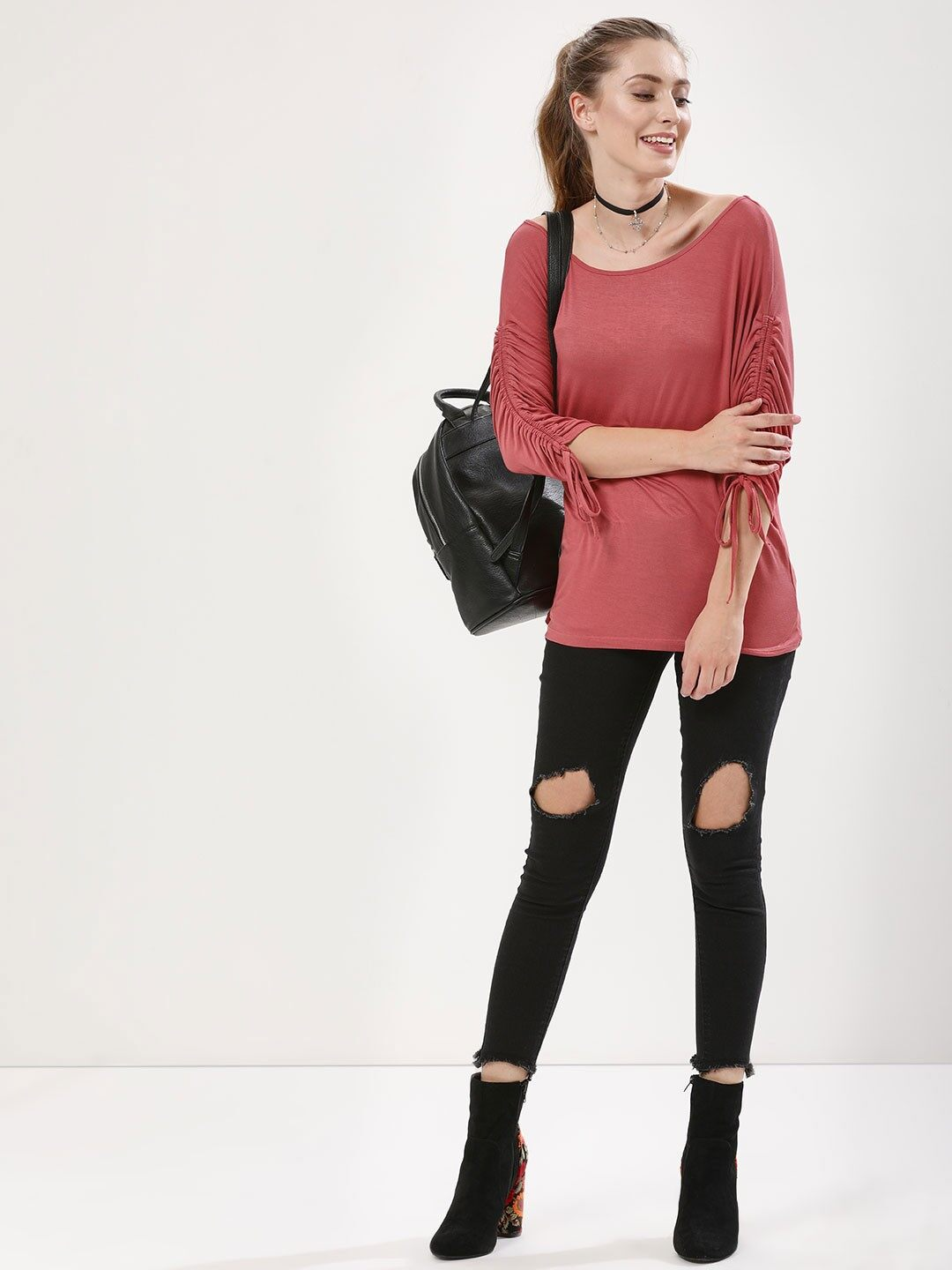 12-RUCHED-SLEEVE
