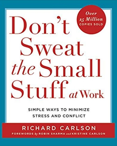 1-Don't Sweat The Small Stuff-inspirational book