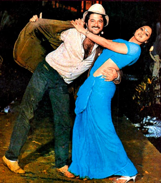 Mr India Reboot- Anil and sridevi